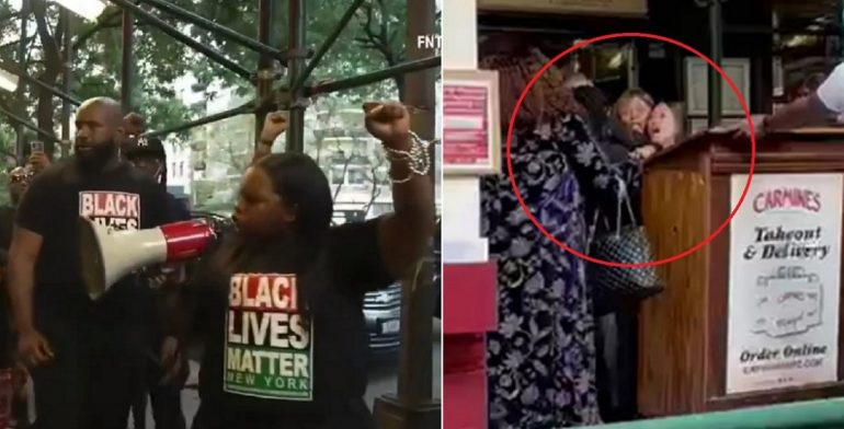 WATCH: Black Lives Matter NY Loses All Credibility After Restaurant Releases Footage