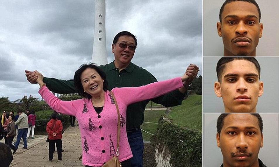 """跟""""黑命贵""""比起来,亚裔的命啥都不是:谋杀休斯顿亚裔夫妇的三名男子中的一人被保释出狱"""