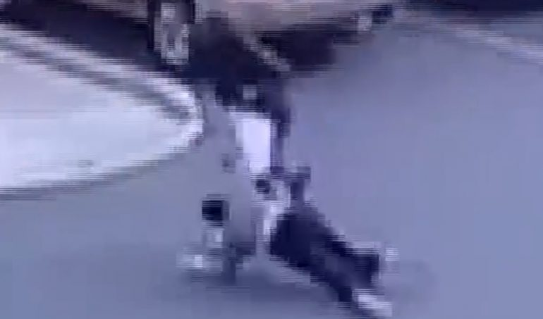 Elderly Asian Woman Assaulted and Robbed in Supermarket Parking Lot